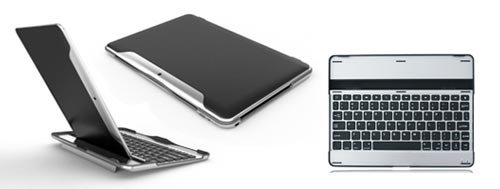 Samsung Galaxy Tab 10.1 keyboard Tab keyboard case bij MegaGadgets