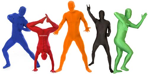 Disfraces Morphsuits en diferentes colores