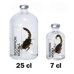 Scorpion Vodka, ideaal kado voor elke vodka liefhebber