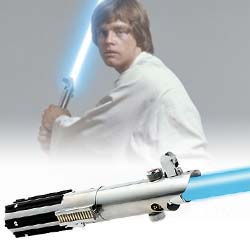 Luke Skywalker lightsaber fx