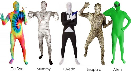 Die MorphSuits Premium Anz&uuml;ge bieten f&uuml;r jede Gelegenheit das passende Outfit.