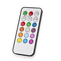 Rainbow Candle, remote