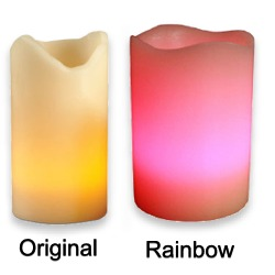 Rainbow Candele, Multi Color & Original