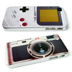 Originele iPhone 4 hoesjes met camera of gameboy design