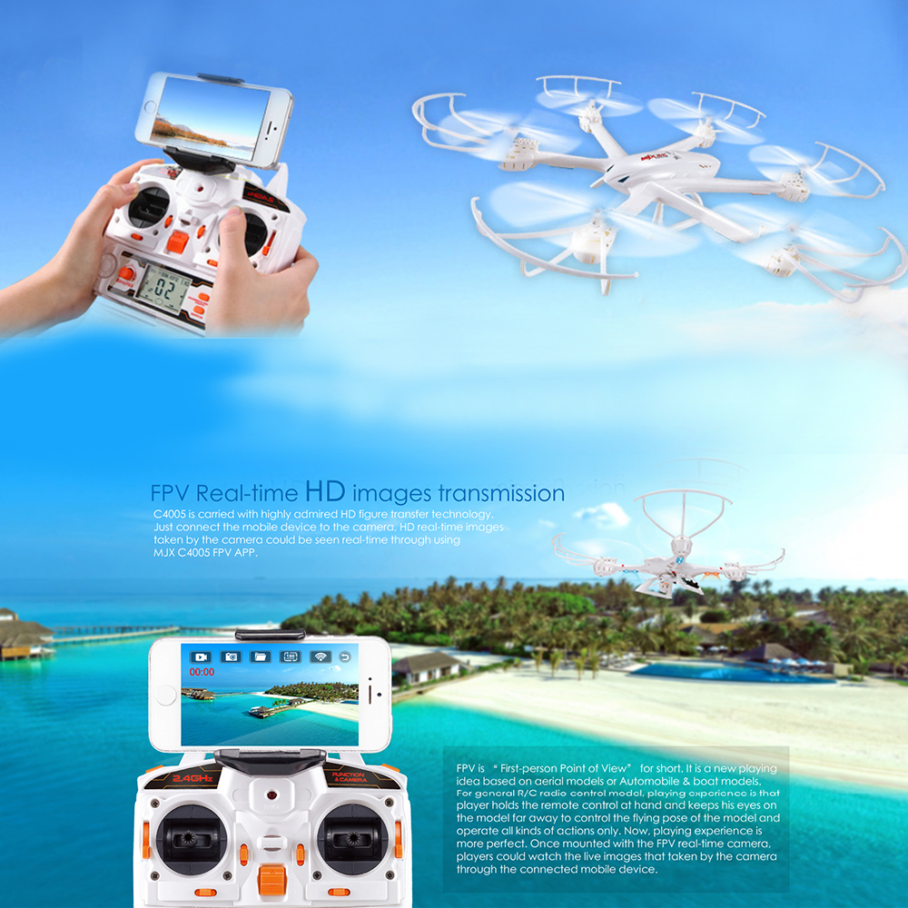 MJX X600 Hexacopter met Live View