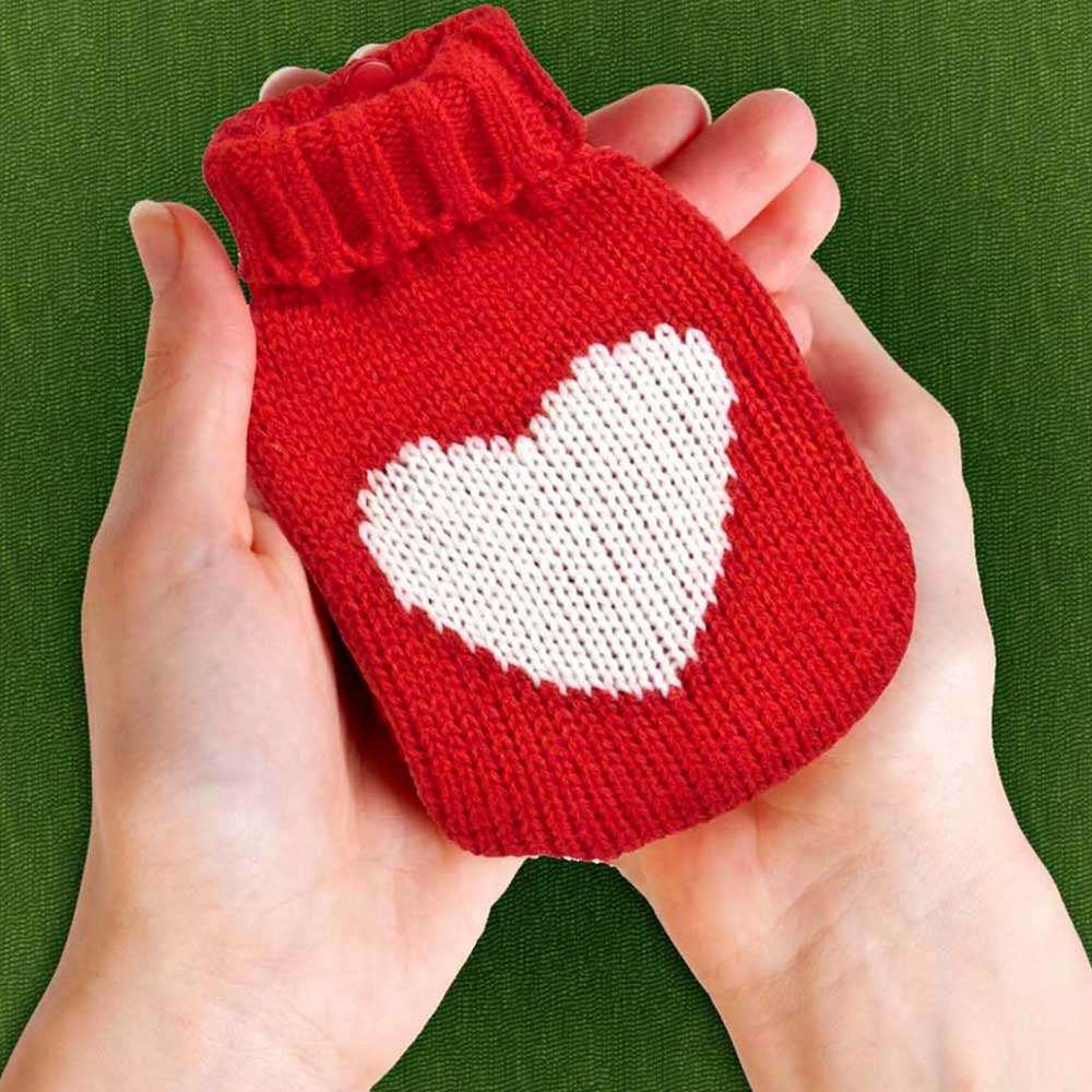 Hot Pack Knitted Handwarmer