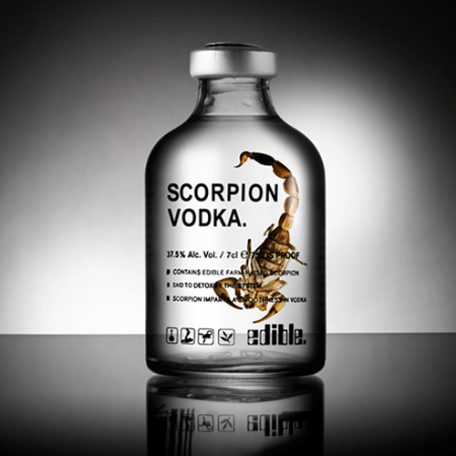 Scorpion Vodka - 7 cl
