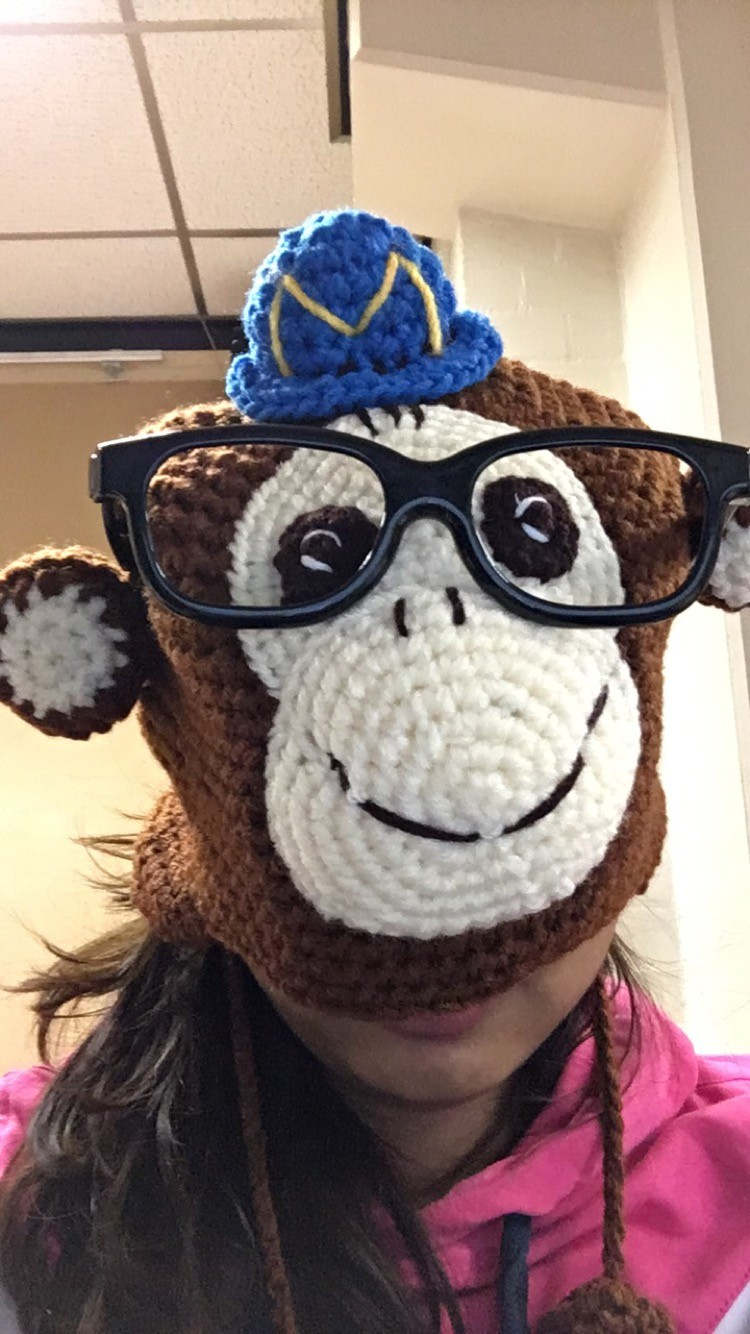 Fun at the office with the MailChimp Hat