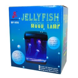 Jelly Fish Tank on Kenmerken Jelly Fish Tank Aquarium Met 3 Realistische Nep Kwallen 12