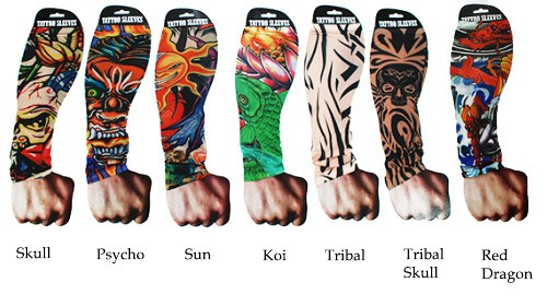 Tattoo Sleeves - tattoo mouwen
