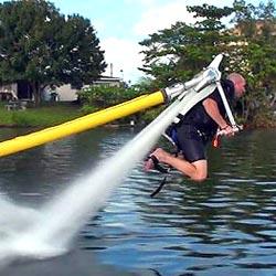 jetlev water jetpack, het perfecte kado oor miljonairs
