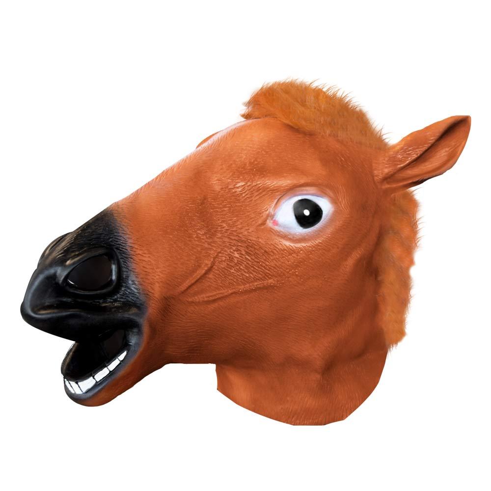 Dieren masker | Horse Head | MegaGadgets.nl