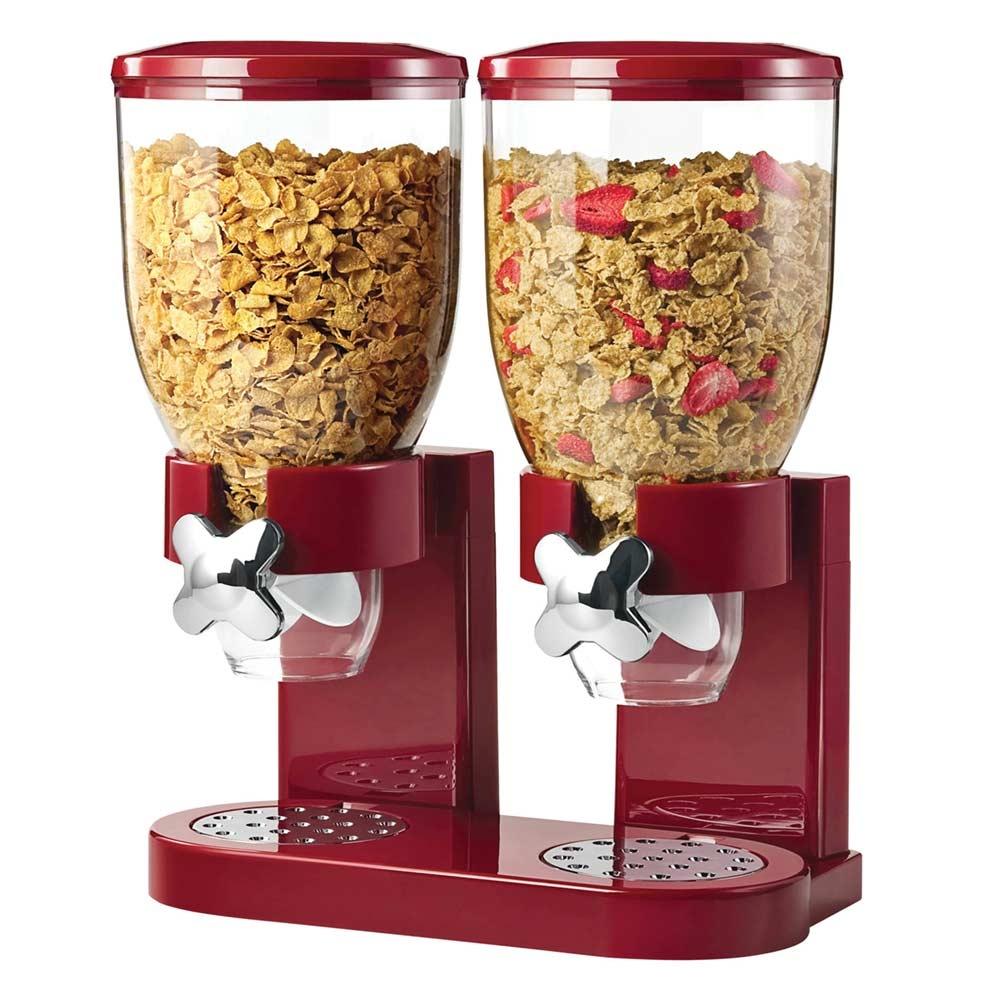 De Cornflakes Dispenser is de klassieke dispenser voor jouw cornflakes en cruesli.