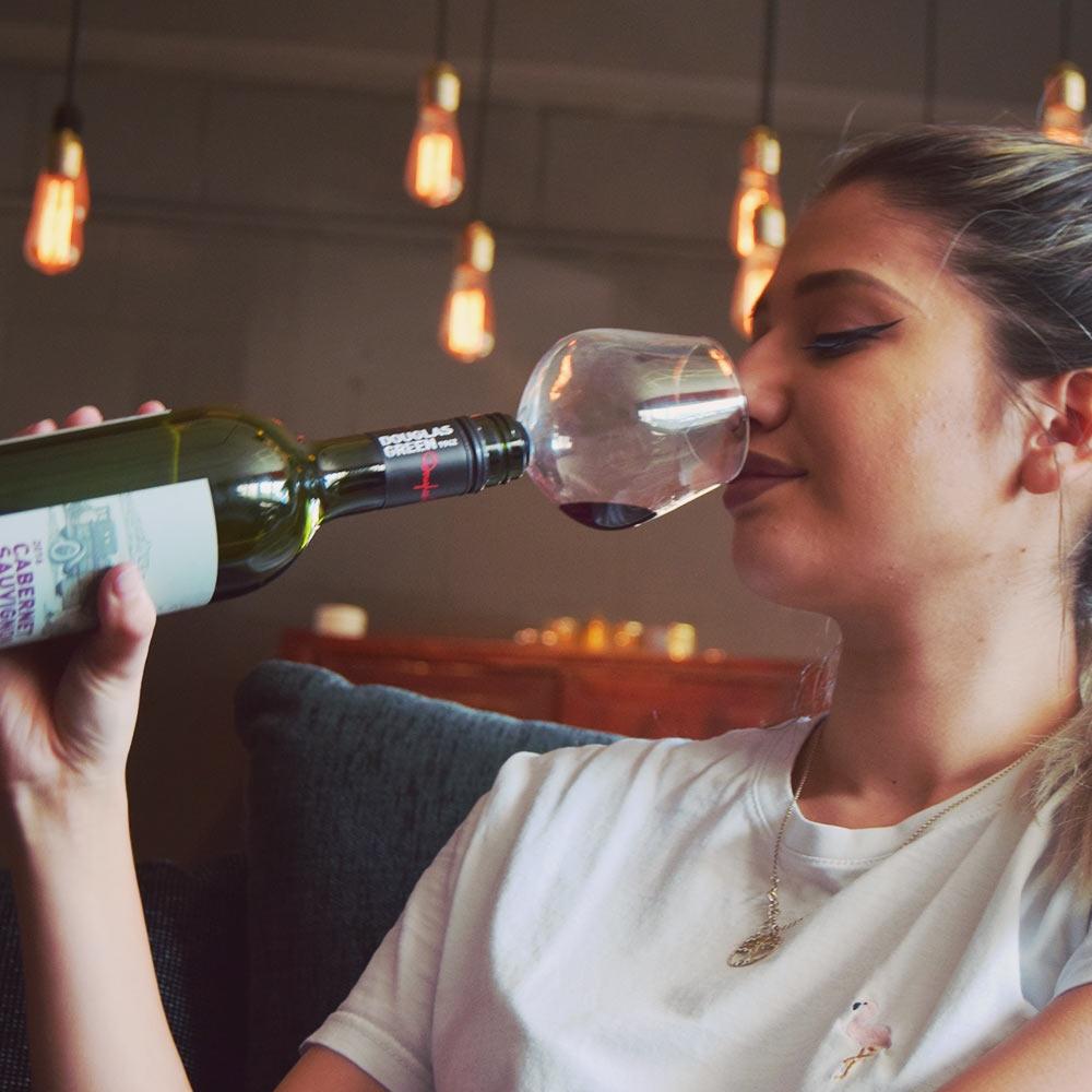 Dagaanbieding - Wijnfles Glas dagelijkse aanbiedingen
