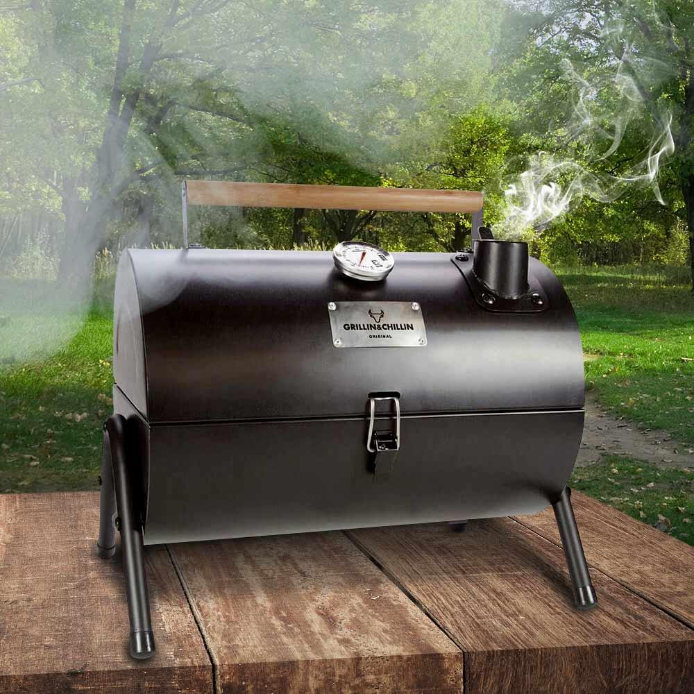 Gusta Bbq Smoker Grill | MegaGadgets