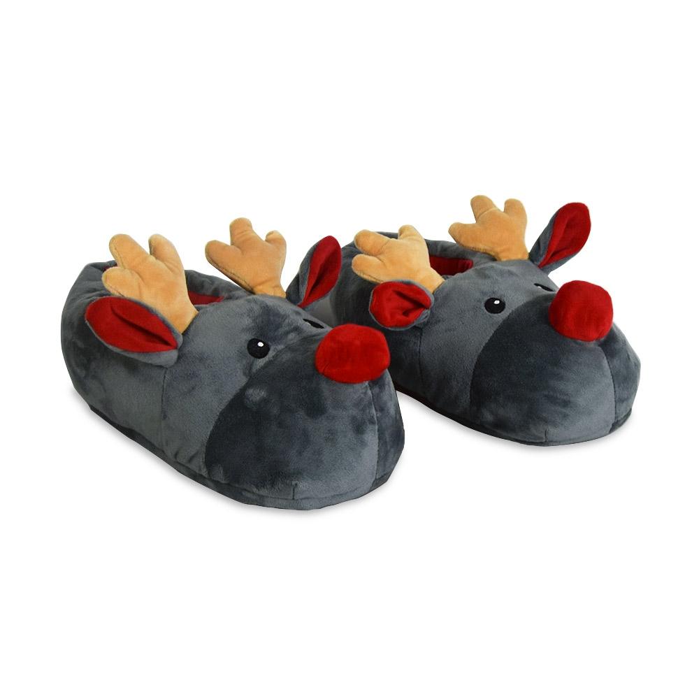 Kerst pantoffels - Rendier sloffen voor € 14.95 | MegaGadgets
