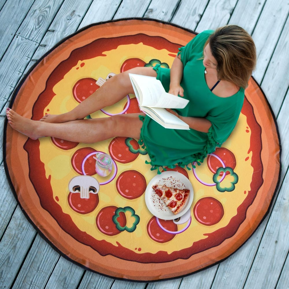 Pizza Strandlaken