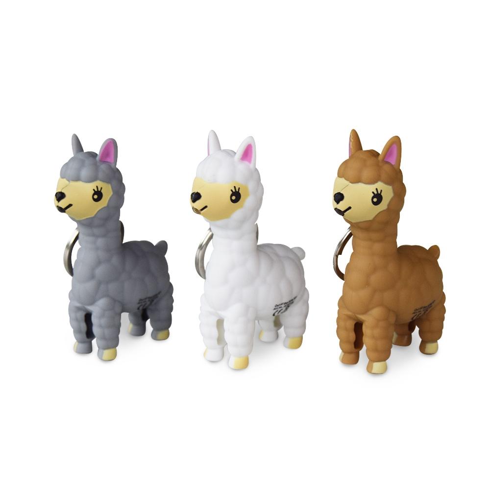 Alpaca's zijn de trend van nu. Mis daarom niet deze schattige Alpaca Sleutelhanger!