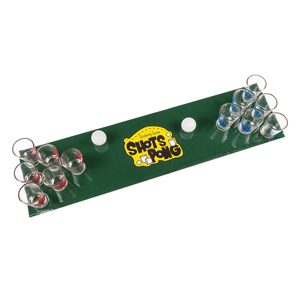Het Shot Pong Drankspel is de hit op elk studenten feestje!