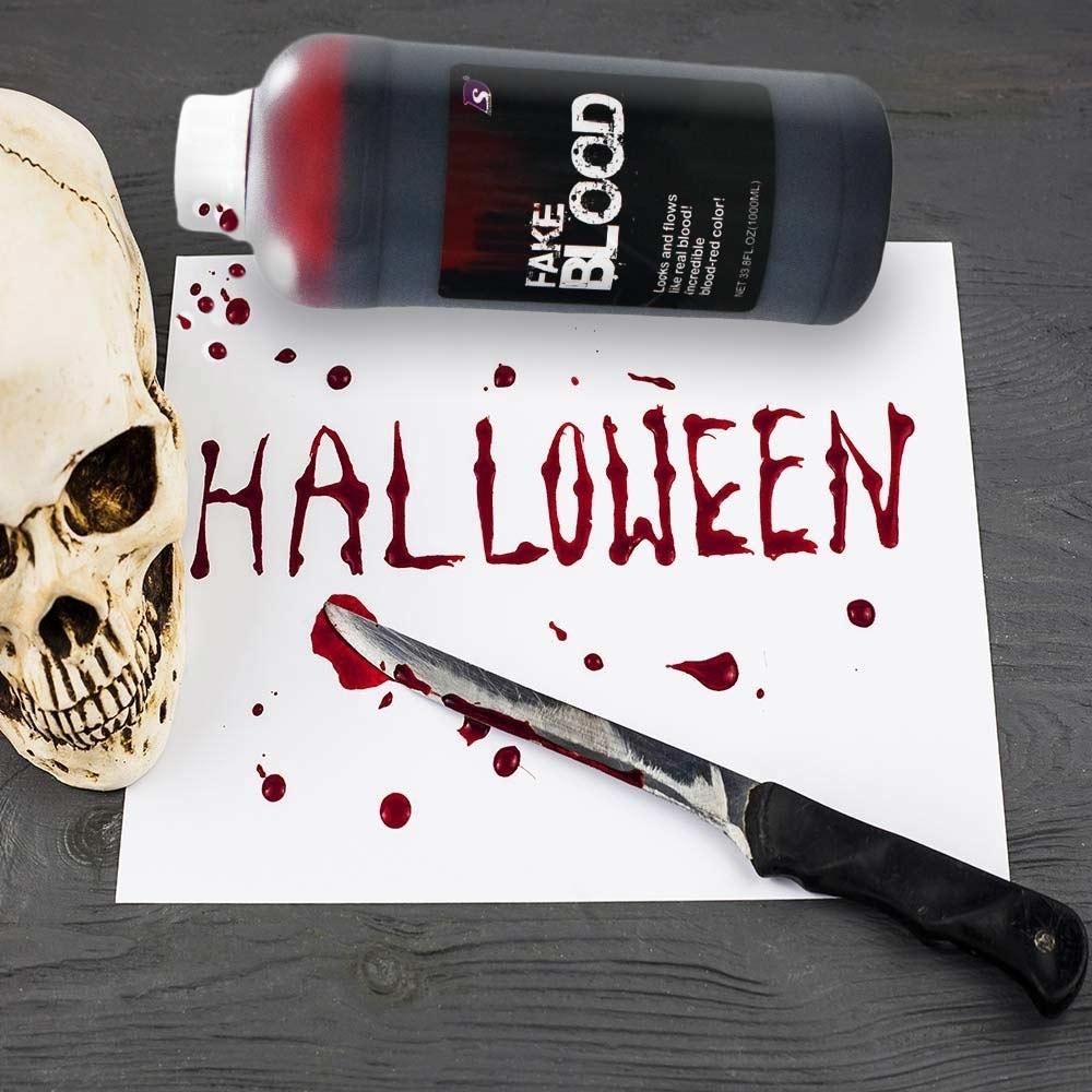 Dagaanbieding - Nep Bloed Halloween dagelijkse aanbiedingen