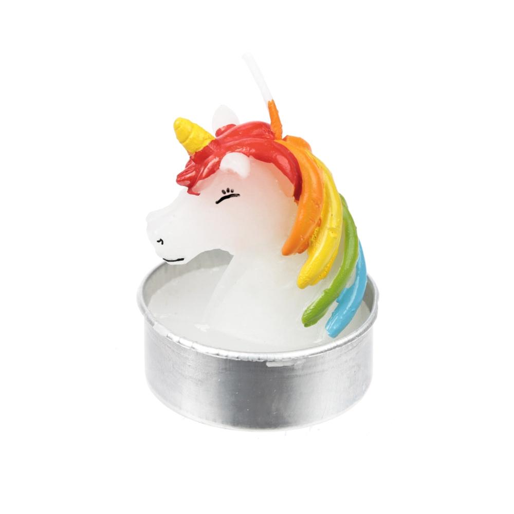 Een magische sfeer met de Unicorn Kaarsen - 6 stuks