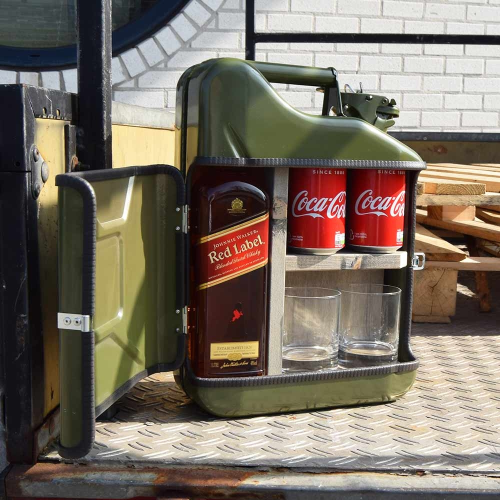 Jerrycan Mini Bar - 10 liter - Zwart