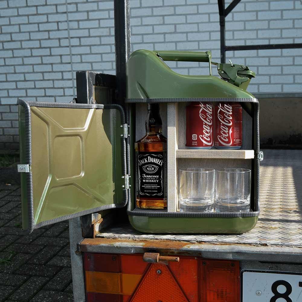 Jerrycan Mini Bar - 10 liter - Groen