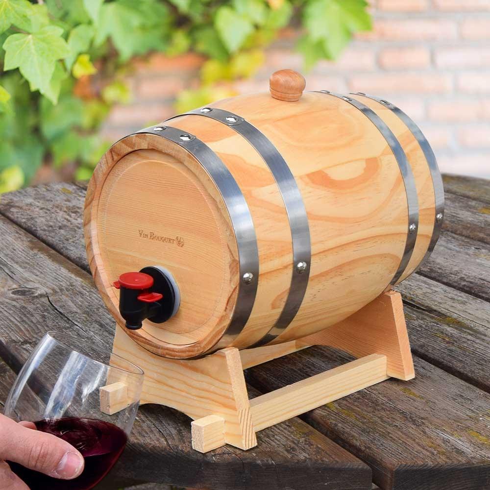 Dagaanbieding - Mini Wijnvat - 3L dagelijkse koopjes
