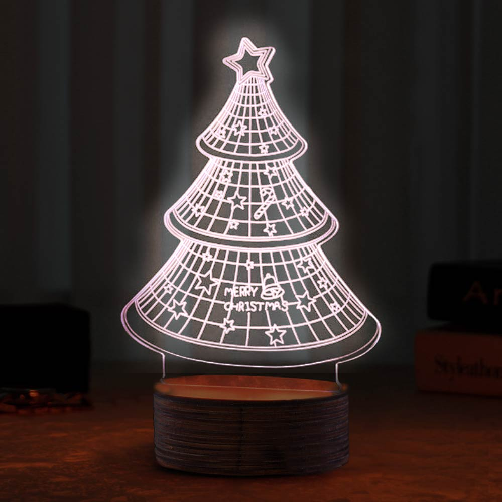 3D Illusion lamp Christmas Tree