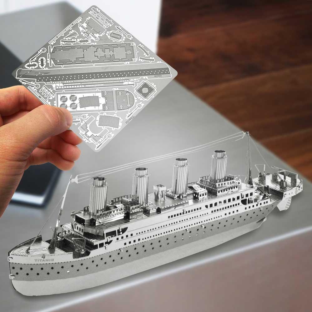 Metalen 3D Puzzels