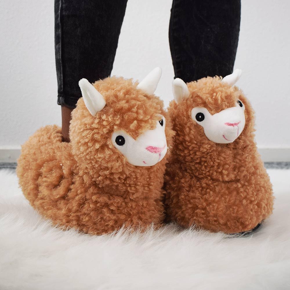 Dagaanbieding - Alpaca Pantoffels dagelijkse aanbiedingen