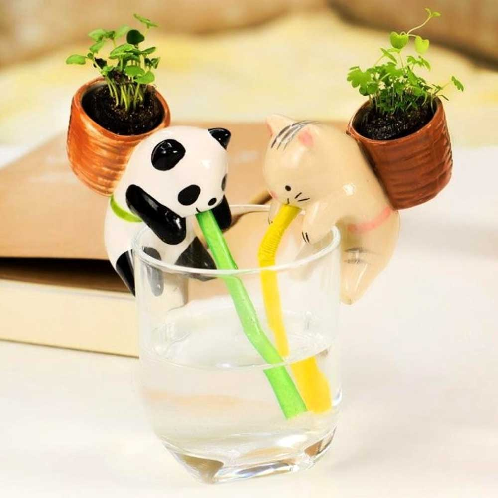 Self Watering Animal -Panda