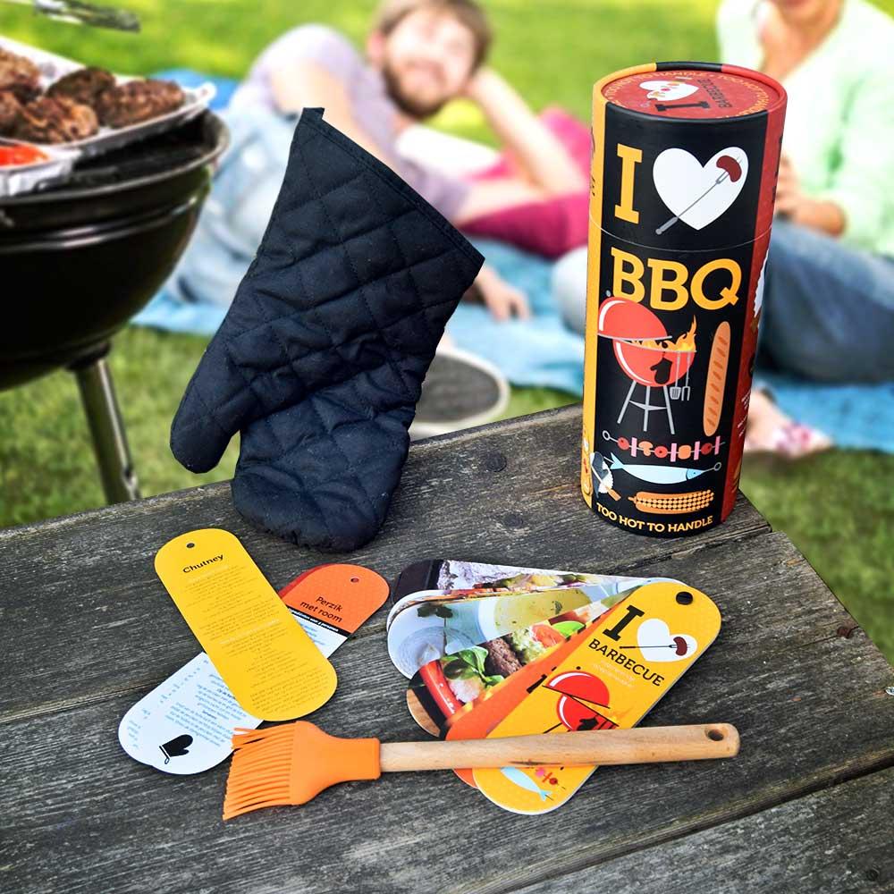 Dagaanbieding - I Love BBQ Cadeaubox dagelijkse aanbiedingen