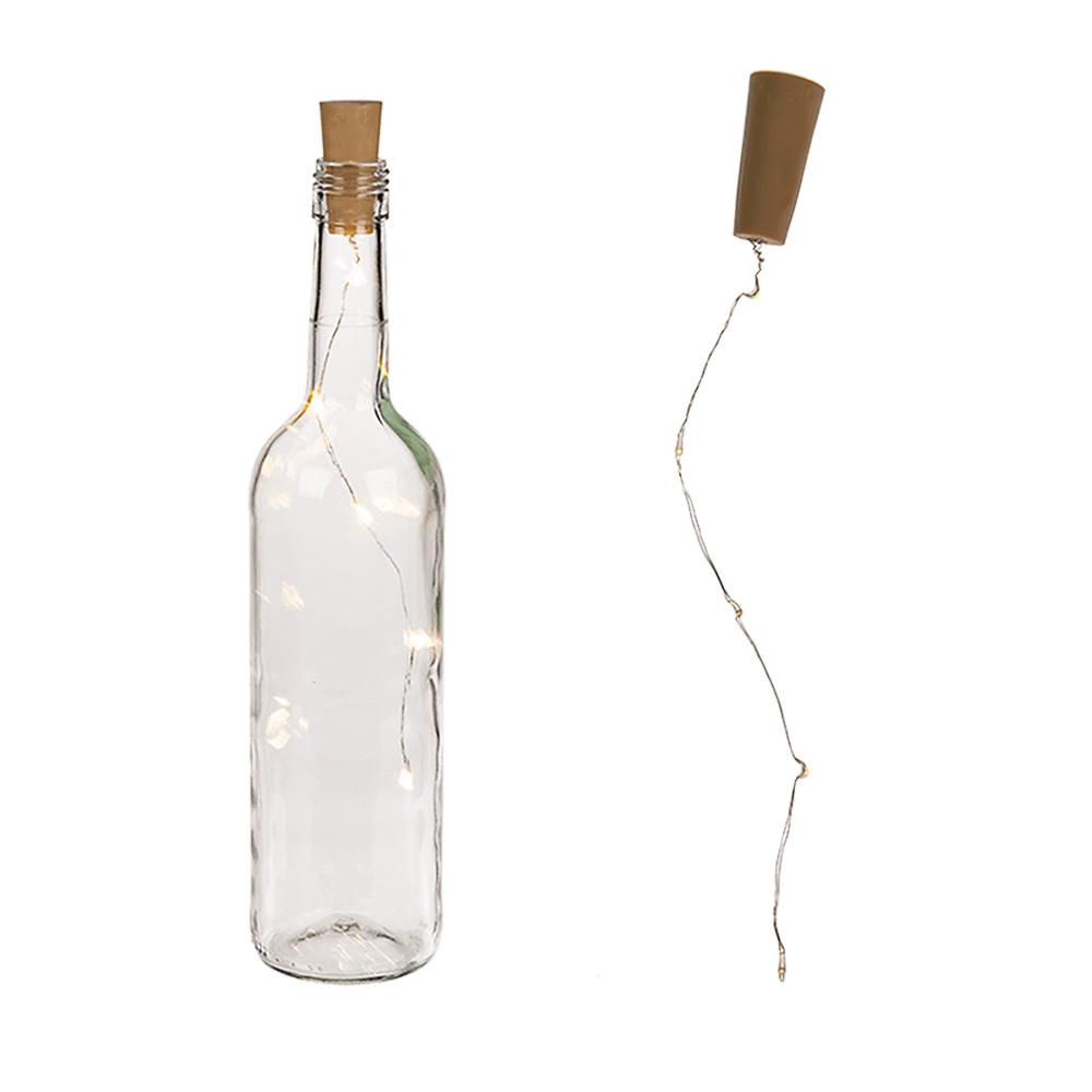 Decoreer je huis met glazen flessen en deze Bottle Cap Lights