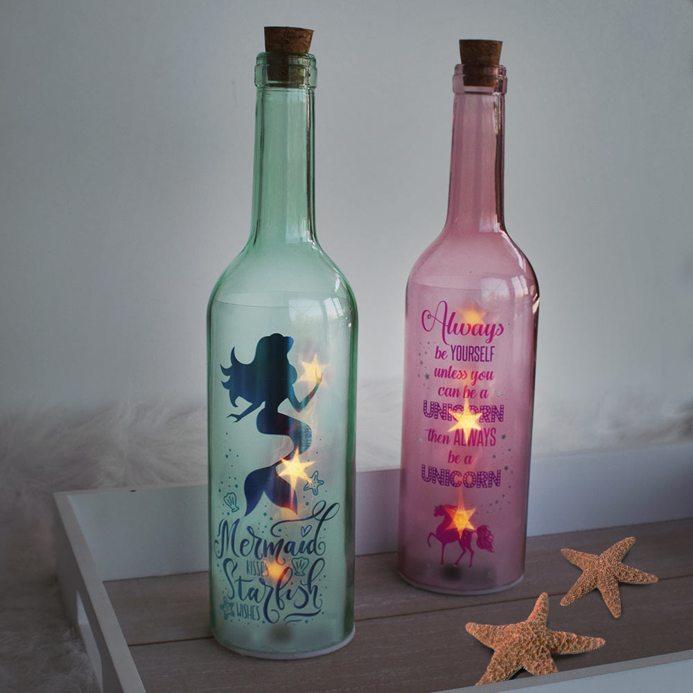 LED Bottle Light - Mermaid