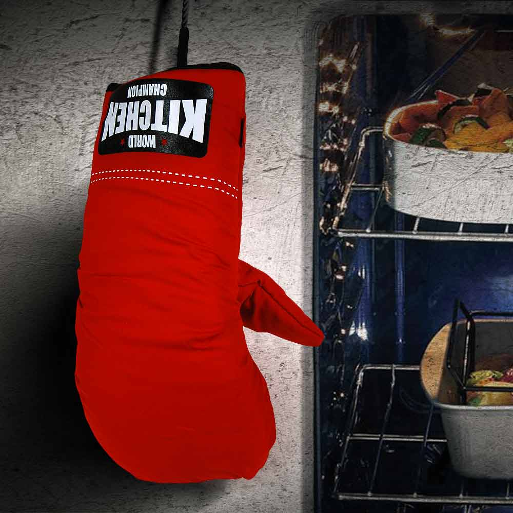 Boxing Glove Oven Mitts | MegaGadgets