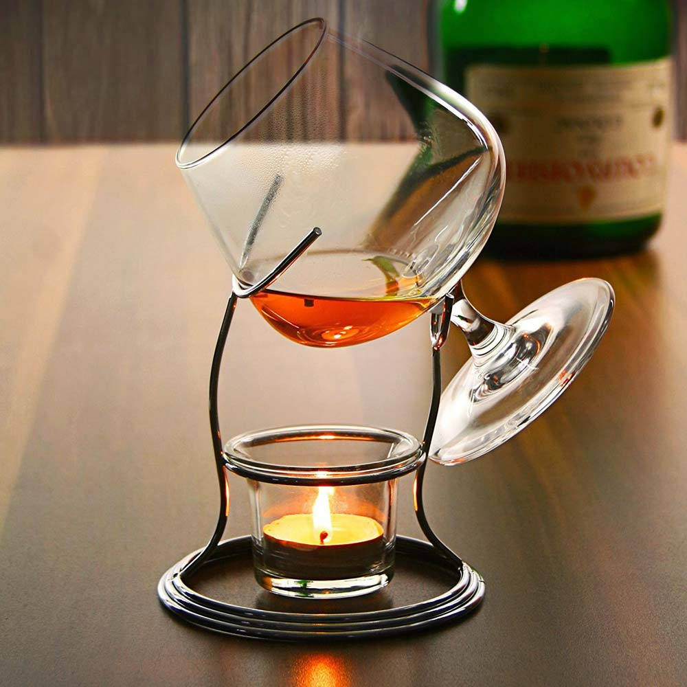 Cognac Warmer Set