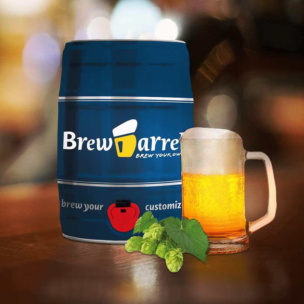 Bierbrouwpakket Brewbarrel | MegaGadgets