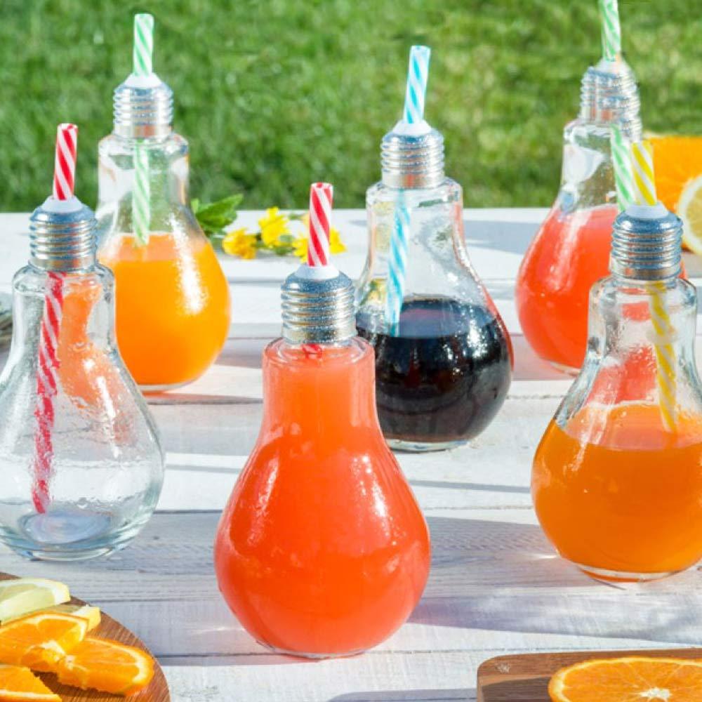 Gloeilamp Cocktail Glazen| Megagadgets