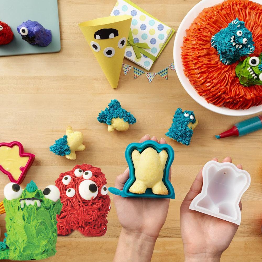 Cake Creature 3D Set | MegaGadgets