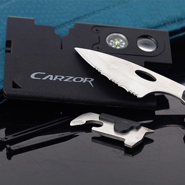Creditcard survival kit