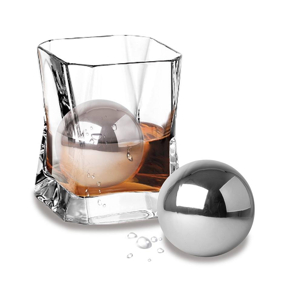 Met deze Chill Ball Steel zorg jij ervoor dat jouw drankje nooit meer warm wordt!