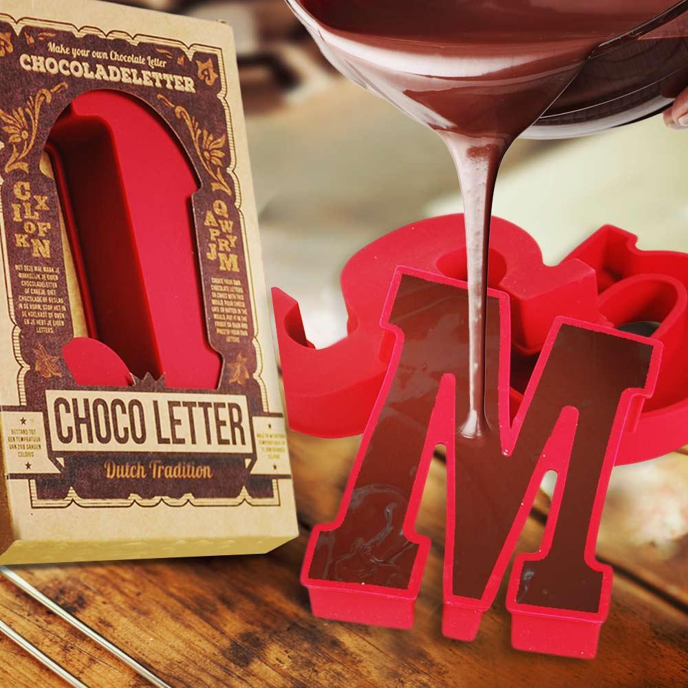 Chocoladeletter Mallen | Siliconen Mal