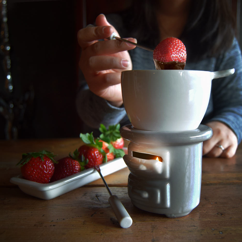 Image of Chocolade Fondue Set