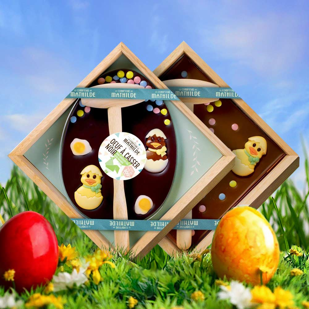Chocolade Plaat met Hamer
