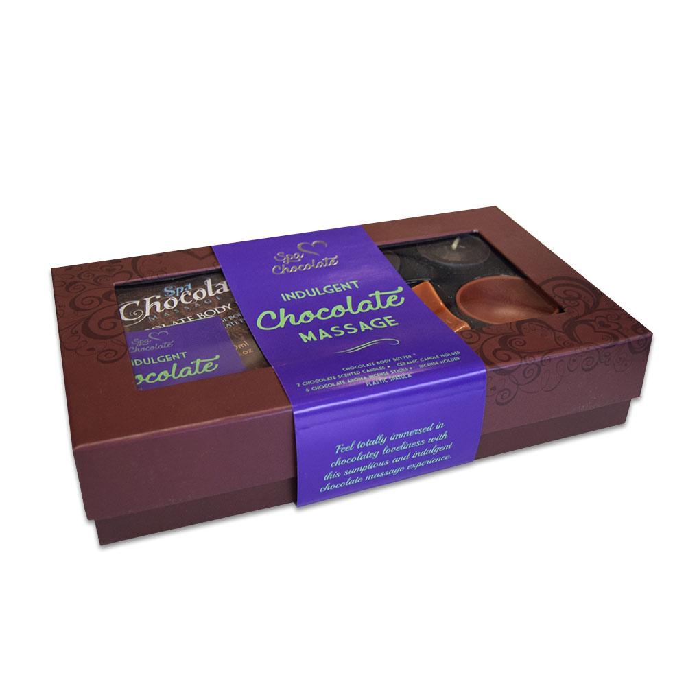 Geniet van een romantische massage met deze Chocolate Massage Kit!