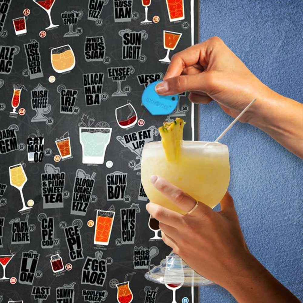 101 Cocktails Skratkz Poster | MegaGadgets