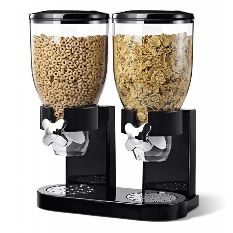 Cornflakes Dispenser, lekker ontbijtje met deze handige dispenser
