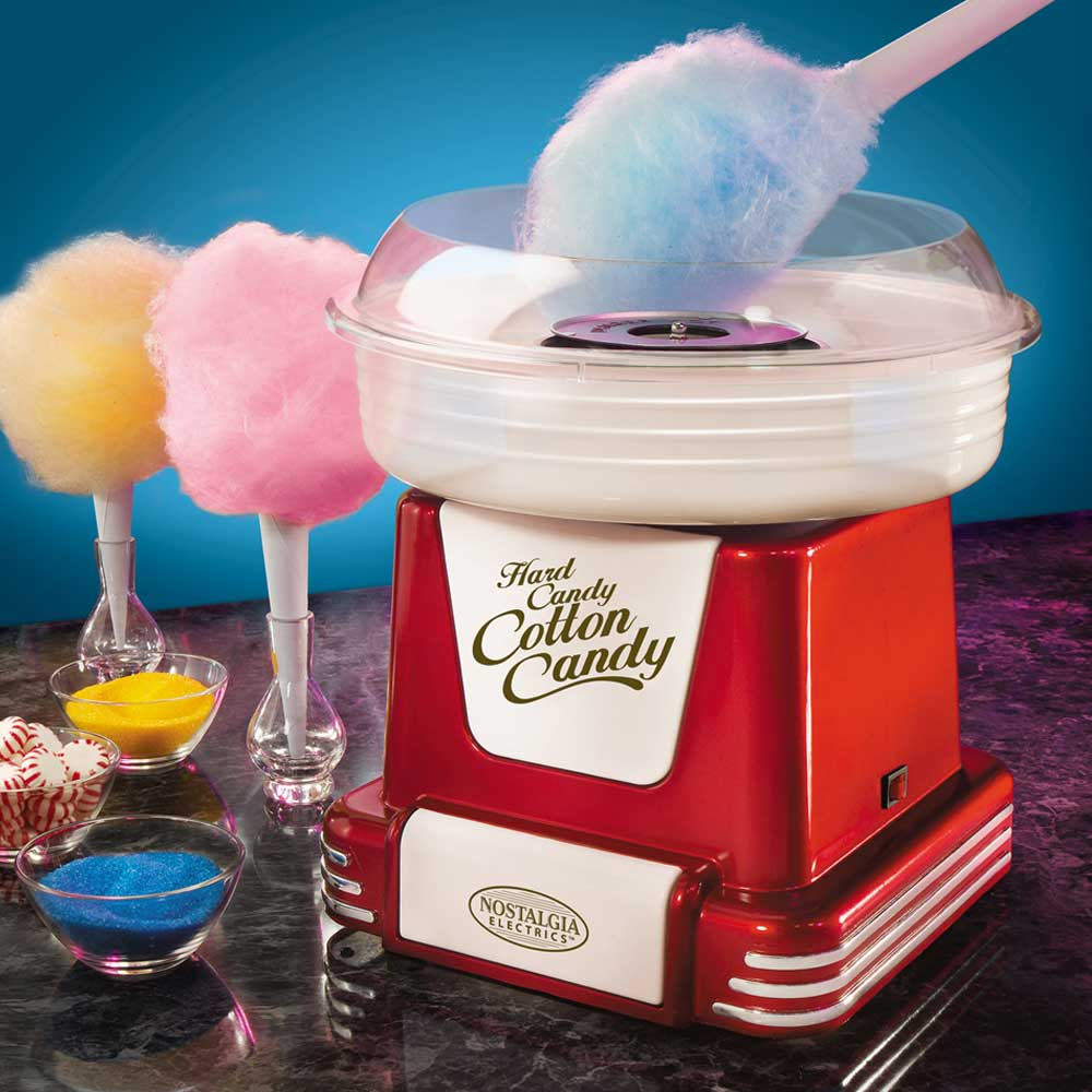 Retro Cotton Candy Machine | MegaGadgets