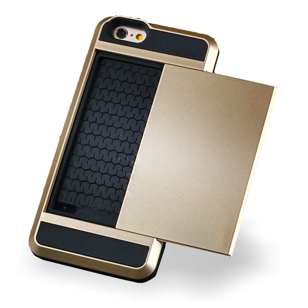 Smartphone Creditcard Slider, telefoonhoes met kaartenhouder